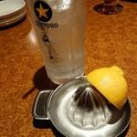 ソンブレロ アラン - 生搾りレモンサワー