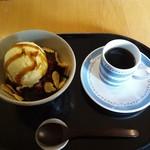 今出川珈琲館 - コーヒーあんみつ