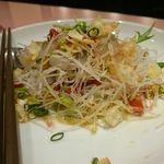 里弄 - 平目のお刺身サラダ