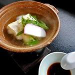芳野旅館 - 朝食(湯豆腐)