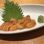 板前寿司  - 塩水ウニのお造り