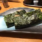 板前寿司  - 平貝貝柱の磯辺