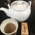 胡桃亭 - 蕎麦湯