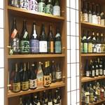 鮨 かの - 日本酒は常時20種
