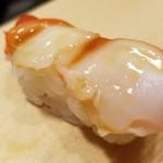 82262966 - ⑧夜泣き貝                         夜泣き貝は独特の香りがあるのですが、レモン塩の効果でしょうか、臭み無くて食べ易かったです。
