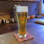 灯 - 生ビール