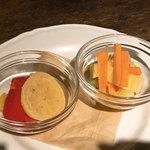 WOODSHED - 季節野菜の自家製ピクルス