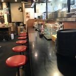 北海道らーめん 味源 - 内観2018年3月