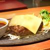 ミート矢澤 - 料理写真:デミグラスチーズハンバーグ
