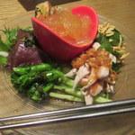 柳華 - 特製オードブル5種盛り