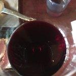 京ちゃばな - 赤ワイン(*´ω`*)甘味はあまりなく渋め