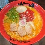 なんつッ亭 - トマタマ塩鶏白湯らーめん+味玉