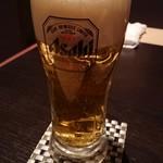 本格焼鳥居酒屋なごみ - 生ビール
