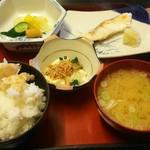 かまど炊き あきた飯 - 本日のかまど炊き魚定食(銀たらの西京焼き) 785円