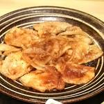 上州麦豚の生姜焼きランチ