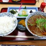 麺匠○福 - 料理写真:すいとんセット