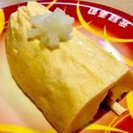 元禄寿司 - 「出汁巻玉子」。