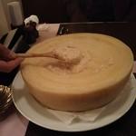 オステリア デル カンパーニュ - 濃厚チーズリゾット