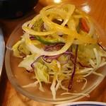 レストラン 自由軒 - ランチのミニサラダ