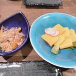 喜多郎寿し - やまごぼう、こだわりの卵焼き