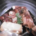 喜多郎寿し - 鯛のあら煮