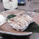 喜多郎寿し - 太刀魚塩焼き