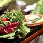 Wine:Korean sampa - 野菜盛り