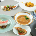 幸せ中国料理 ローズ上海 - ローズ上海美食コース