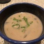 そば居酒屋るちん - 付き出しのスープ
