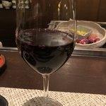 そば居酒屋るちん - グラスワイン 550円