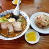 ラーメン駅前 - 料理写真:みそラーメン・焼めしセット
