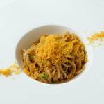 幸せ中国料理 ローズ上海 - カラスミの葱油拌麺