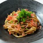 幸せ中国料理 ローズ上海 - 桜えびの葱油反面