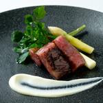幸せ中国料理 ローズ上海 - 黒毛和牛の焼チャーシュー