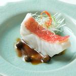 幸せ中国料理 ローズ上海 - 高級ハタスジアラの樹子蒸し