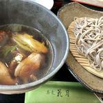 蕎麦 花月 - 料理写真:日・祝日限定田舎そばのつけ鴨
