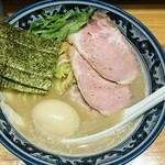 ○心厨房 - 料理写真:濃熟塩らーめん味玉  890円