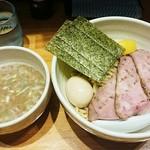 ○心厨房 - 塩つけ麺 味玉  960円