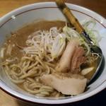 麺と人 - 【元祖どろ味噌ラーメン + 煮玉子】¥780 + ¥100