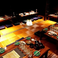 お座のお席貸し切り16~30名様宴会のご予約ができます。