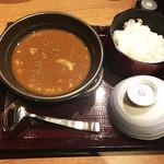 個室 肉割烹 KATANA - 牛すじ煮込みカレー