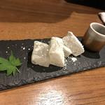 個室 肉割烹 KATANA - 沖縄海塩わらびもち