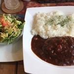 ドッグカフェ Gaju - 料理写真:トマトデミハンバーグ