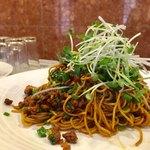 中国酒家 大三元 - 汁なしラージャン麺 1,100円