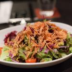 カフェレストラン ルシェッロ - 桜エビのサラダ