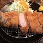 とんかつ 太志 - とんかつ(ロース180g)定食 1000円