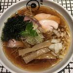 麺処 蛇の目屋 - 煮干しラーメン800円