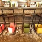 天ぷら 大吉 - ルールの床へ殻を