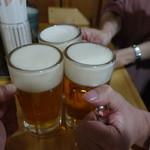 82285593 - 生ビールで乾杯♪