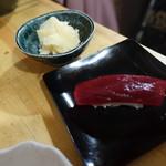 マグロー - マグロ赤身握り 150円